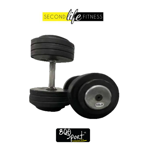 55lbs-Rubber-Dumbbell-Pair