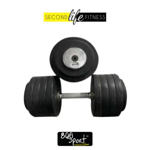 95lbs-Rubber-Dumbbell-Pair