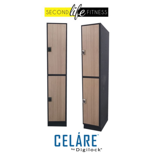 2 Tier Phenolic Wood Locker